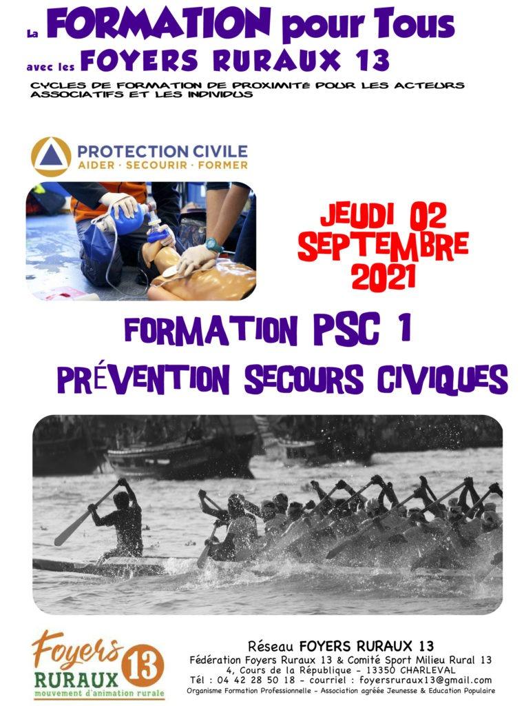 """Formation """"PRÉVENTION & SECOURS CIVIQUES – PSC 1"""""""